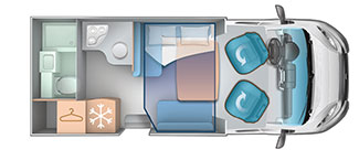 2 berth layout