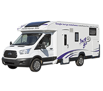 Discovery motorhome exterior